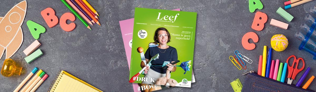 Cover Leef 8